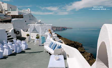 All inclusive wedding packages santorini