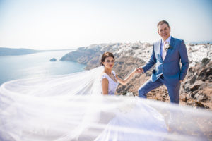 santorini wedding phootos